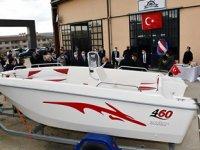 Tekirdağ'da teşvikle kurulan imalathanede tekne üretimi başladı