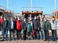 Gümbet'te denizcilerin sorunları masaya yatırıldı