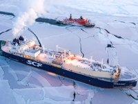 'Christophe de Margerie' isimli Rus gemisi, tarihte ilk kez kışın Kuzey Buz Denizi'ni geçti