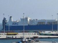'ARC Endurance' gemisi, Dedeağaç Limanı'na yanaştı