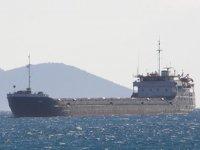 Astol isimli gemi, Yunan adasında karaya oturdu