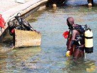 Bodrum'da deniz dibi temizliği gerçekleştirildi
