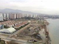 Mavişehir'deki kıyı projesinde çalışmalar sürüyor