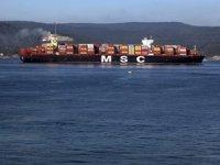 Çanakkale Boğazı, transit gemi trafiğine tek yönlü kapatıldı