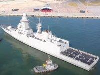 Mısır'ın ikinci FREMM fırkateyni deniz testlerine başladı