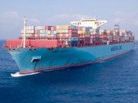 260 konteynerini denize düşüren MAERSK Eindhoven, Yokohama'dan ayrıldı