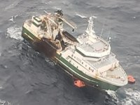 Atlantic Destiny isimli balıkçı gemisi, Kuzey Atlantik Denizi'nde battı: 31 mürettebat kurtarıldı