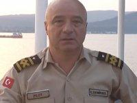 Kılavuz Kaptan Eray Demirkol, Çanakkale Boğazı'nda çarmıhtan düştü