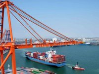 Mersin Limanı'na aynı anda iki mega konteyner gemisi yanaşabilecek