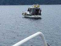 Fethiye'de sürüklenen tekneyi Kıyı Emniyeti ekipleri kurtardı
