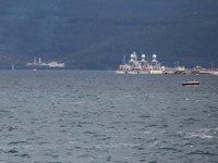 Türk savaş gemileri, Çanakkale Boğazı'na demir attı