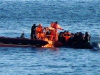 Çeşme'de lastik bot alabora oldu: 3 göçmen öldü