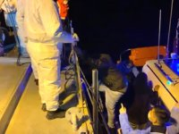 Adada mahsur kalan 36 düzensiz göçmen kurtarıldı