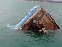 Samsun'da balıkçı teknesi battı
