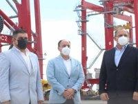 YILPORT, Bolivar Limanı'nda yeni vinçlerini hizmete aldı