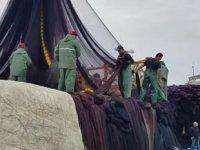 Sinop'ta balıkçılar sezonu erken kapattı