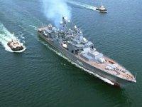 'Mareşal Şapoşnikov' fırkateyni, Kalibr füzesini başarıyla test etti