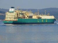 Nijerya'dan yola çıkan LNG gemisi, Çanakkale Boğazı'ndan geçti