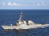 ABD savaş gemileri, Suda Deniz Üssü'nden ayrıldı