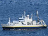 L'Atalante isimli Fransız araştırma gemisinin Türk kıta sahanlığını ihlal girişimi önlendi