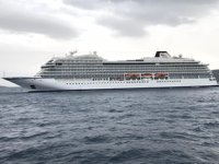 'Viking Orion' isimli kruvaziyer gemisi, Bodrum'a geldi