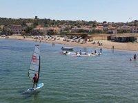 Windsurfçüler, Milli Takım'a seçilebilmek için ter döküyor