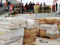 Bir teknede 95 milyon dolar değerinde uyuşturucu ele geçirildi