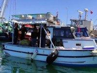 Sahil Güvenlik ekipleri, Körfez'de şebeke operasyonu düzenledi