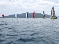 Marmaris'te yelkenli yat yarışları gerçekleştirildi