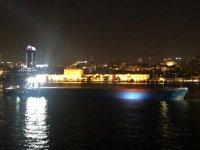 Croatia isimli gemi, İstanbul Boğazı'nda arızalandı