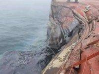 Sarı Deniz'de Sa Justice adlı yük gemisi ile A Symphony adlı petrol tankeri çatıştı