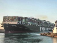 Ever Given gemisinin alıkonulma kararının iptali talebi reddedildi