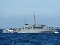 Japonya'da fırkateyn ile balıkçı teknesi çatıştı