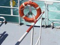 Rahatsızlanan gemi personeli İstanbul'da tahliye edildi