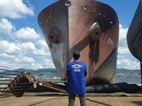 TAG Gemi, NB20 isimli kimyasal tankeri suya indirdi