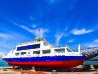 Malatya Atabey İskelesi'ndeki feribotlar bakıma alındı