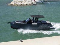 CUPRA tasarımlı yat D28 Formentor suya iniyor