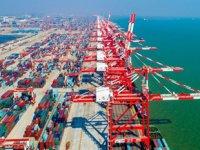 Guangzhou Limanı, denizyoluna demiryolu taşımacılığını da ekledi
