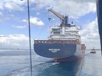 Newyorker isimli gemi, Çanakkale Boğazı'nda arızalandı