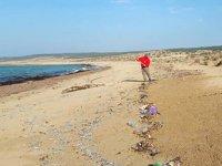 KKTC sahilleri, atıklar yüzünden tehdit altında bulunuyor