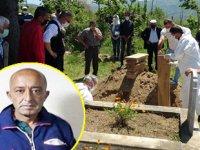 Ukrayna'da denize düşerek hayatını kaybeden Türk mürettebat Orhan Kaymak, Ordu'da toprağa verildi