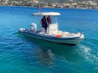 Foça'da yasa dışı deniz patlıcanı avcılığı yapanlara ceza yağdı