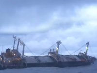 Su almaya başlayan CHONG BONG isimli gemi battı