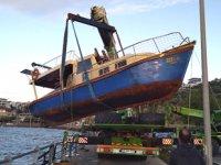 İzmir ve Balıkesir'de fırtınada 109 adet tekne battı