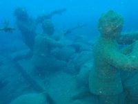 Balıkesir'e su altı müzesi için ilk adım Gömeç'te atıldı