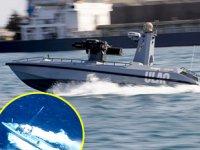 Silahlı İnsansız Deniz Aracı SİDA, hedefi tam isabetle vurdu