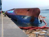 İspanya'da batan Nazmiye Ana isimli geminin mürettebatı Türkiye'ye getirilecek