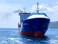 'Lider Halil' isimli gemi, Çanakkale Boğazı'nda arızalandı