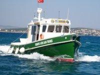 Arkas TURMEPA II isimli atık alım teknesi, yaz sezonunu açtı