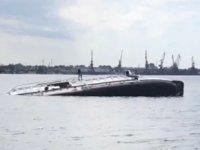 Barrakuda isimli su altı tarama gemisi, Rusya'da battı